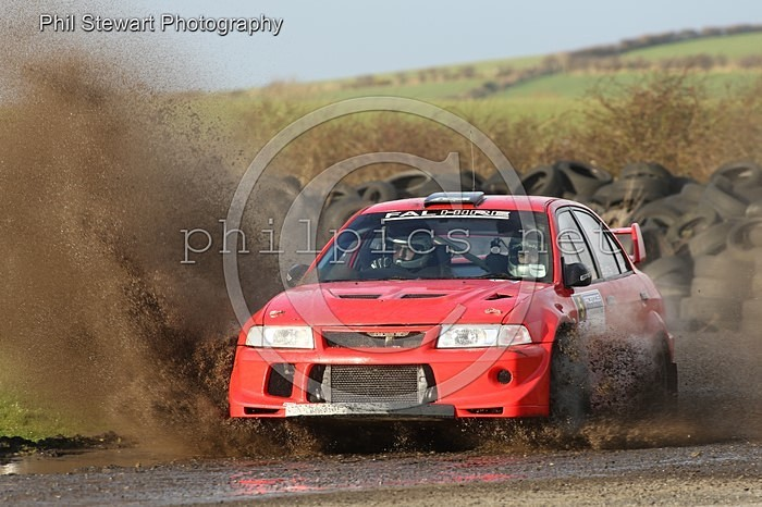 PN 9 - PACENOTES RALLY MAGAZINE STAGES (2016) - KIRKISTOWN