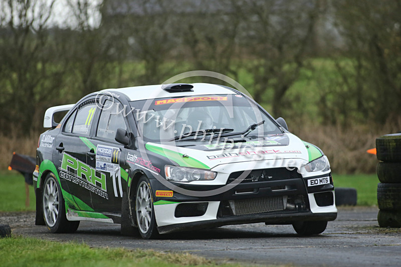 PNS 8 - PACENOTES MAGAZINE STAGES - KIRKISTOWN (2017)