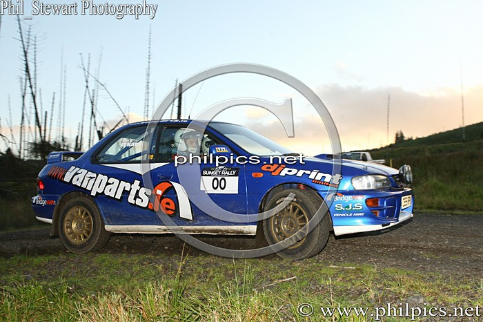 SS 15 - MAGHERAFELT AND DISTRICT MOTOR CLUB SUNSET RALLY (2013)
