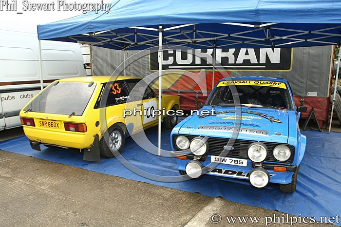 SS 1 - MAGHERAFELT AND DISTRICT MOTOR CLUB SUNSET RALLY (2013)