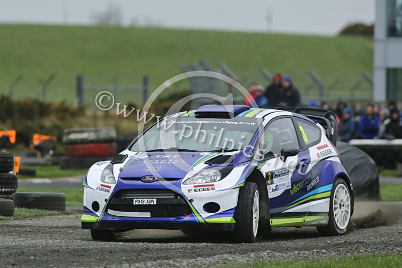 PNS 1 - PACENOTES MAGAZINE STAGES - KIRKISTOWN (2017)