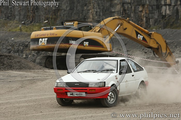 CC 24 - CAMPBELL CONTRACTS RALLY TIME TRIAL - CARN QUARRY - (2015)