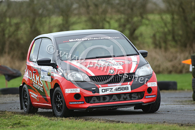 PNS 55 - PACENOTES MAGAZINE STAGES - KIRKISTOWN (2017)