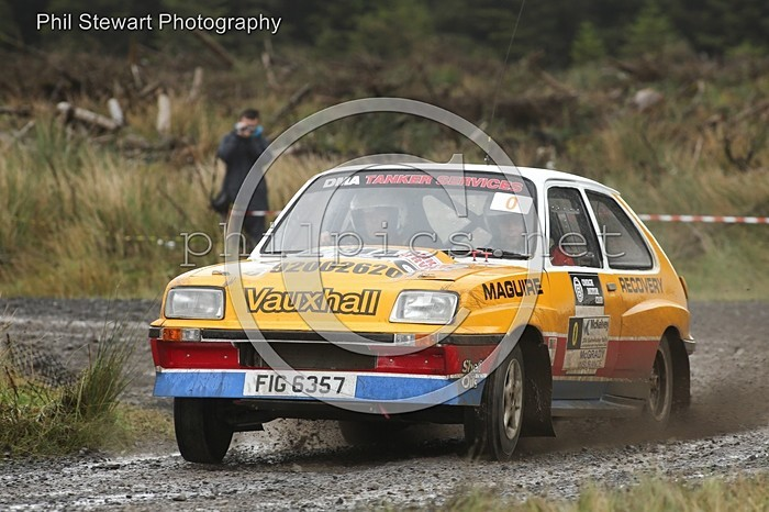 BW 4 - OMAGH MOTOR CLUB BUSHWACKER RALLY (2016)
