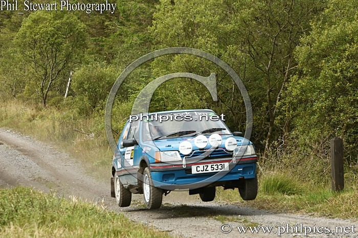 SS3 10 - SAMDEC SECURITY LAKELAND STAGES RALLY (2014)
