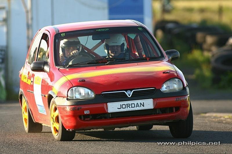AGHADOWEY TEST 12 - JMD RALLYTEAM TEST NEW CAR AT AGHADOWEY