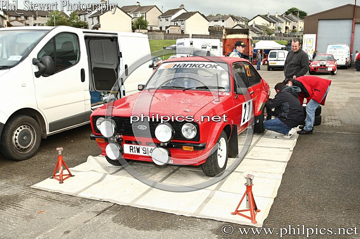SS 2 - MAGHERAFELT AND DISTRICT MOTOR CLUB SUNSET RALLY (2013)