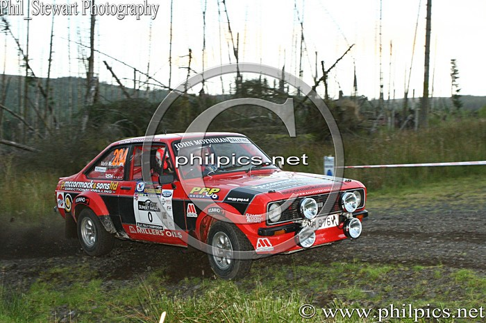 SS 16 - MAGHERAFELT AND DISTRICT MOTOR CLUB SUNSET RALLY (2013)