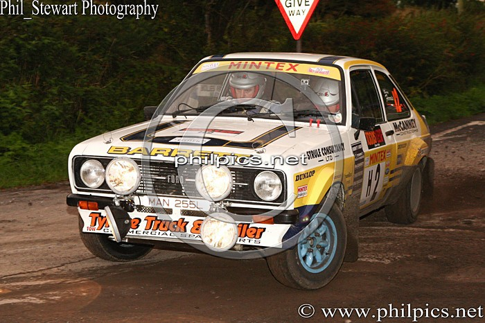 UR 22 - TODDS LEAP ULSTER RALLY (2013)