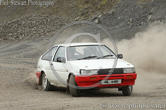 CC 12 - CAMPBELL CONTRACTS RALLY TIME TRIAL - CARN QUARRY - (2015)