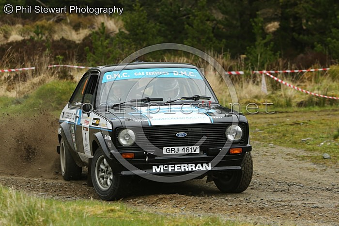 TOTS 1 - McGEEHAN MOTORSPORT TOUR OF THE SPERRINS (2016)