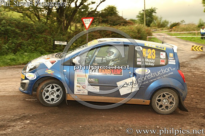 UR 17 - TODDS LEAP ULSTER RALLY (2013)
