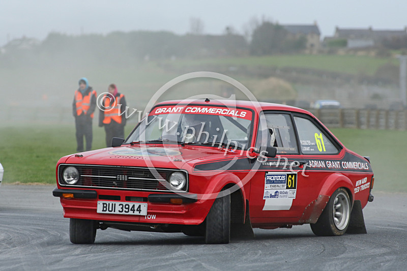 PNS 44 - PACENOTES MAGAZINE STAGES - KIRKISTOWN (2017)