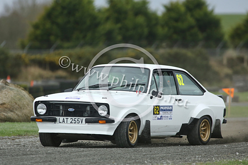 PNS 45 - PACENOTES MAGAZINE STAGES - KIRKISTOWN (2017)