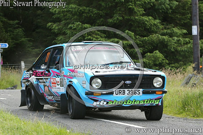 POC 11 - POC (NI) OILS STAGES RALLY (2015)