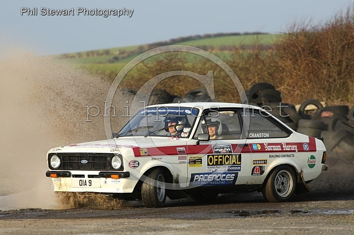 PN 1 - PACENOTES RALLY MAGAZINE STAGES (2016) - KIRKISTOWN