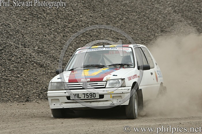 CC 5 - CAMPBELL CONTRACTS RALLY TIME TRIAL - CARN QUARRY - (2015)