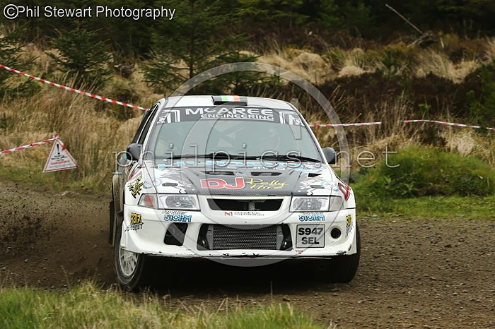 TOTS 9 - McGEEHAN MOTORSPORT TOUR OF THE SPERRINS (2016)