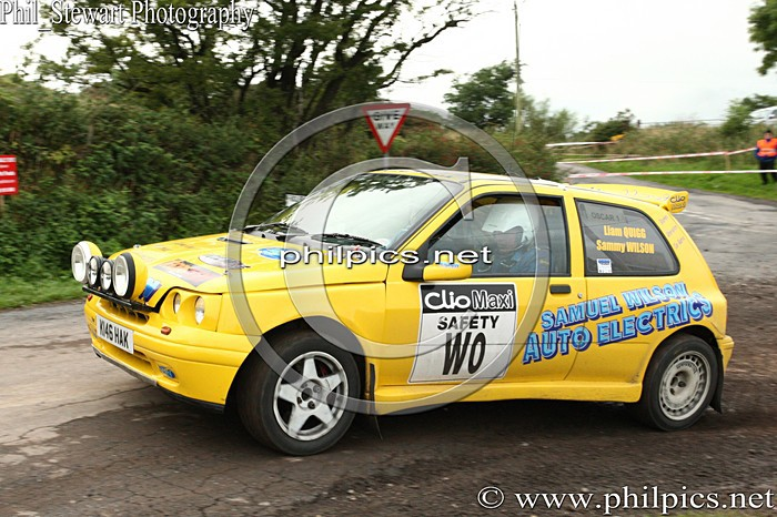 UR 10 - TODDS LEAP ULSTER RALLY (2013)