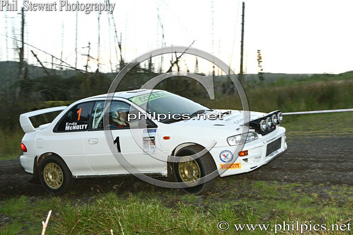 SS 18 - MAGHERAFELT AND DISTRICT MOTOR CLUB SUNSET RALLY (2013)