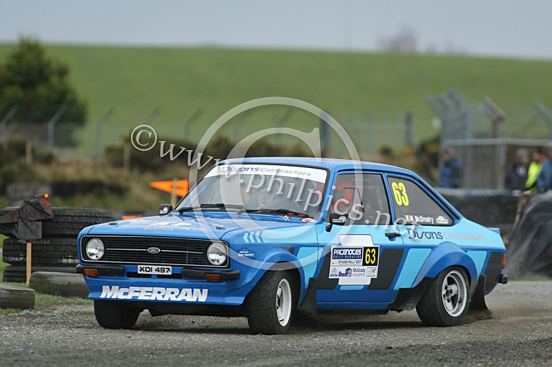 PNS 46 - PACENOTES MAGAZINE STAGES - KIRKISTOWN (2017)
