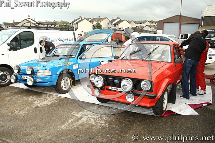 SS 4 - MAGHERAFELT AND DISTRICT MOTOR CLUB SUNSET RALLY (2013)