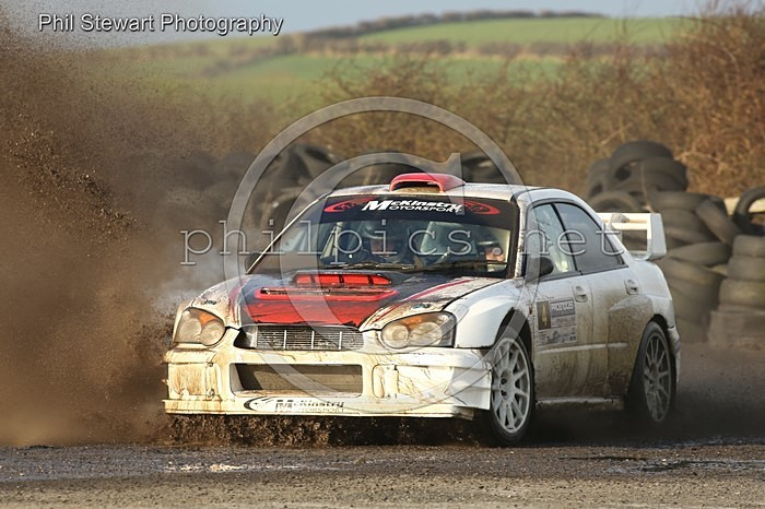 PN 6 - PACENOTES RALLY MAGAZINE STAGES (2016) - KIRKISTOWN