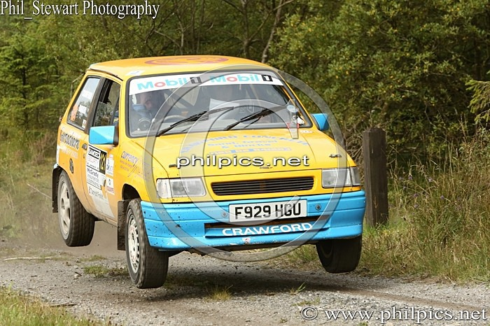 SS3 6 - SAMDEC SECURITY LAKELAND STAGES RALLY (2014)