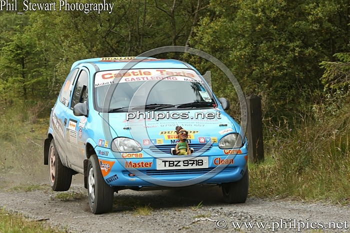 SS3 4 - SAMDEC SECURITY LAKELAND STAGES RALLY (2014)