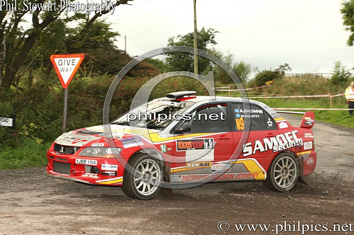 UR 13 - TODDS LEAP ULSTER RALLY (2013)