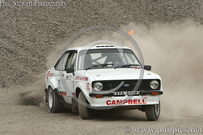 CC 18 - CAMPBELL CONTRACTS RALLY TIME TRIAL - CARN QUARRY - (2015)