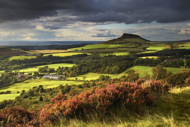 Roseberry Topping-After the storm - Roseberry Topping