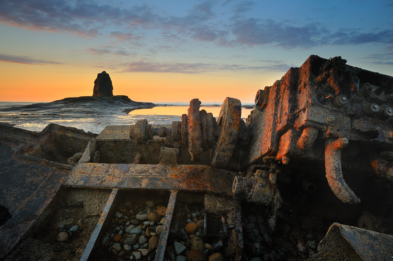 Saltwick Bay-Wreck - Whitby & surrounding areas