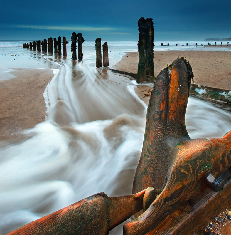 Sandsend Groynes - Whitby & surrounding areas