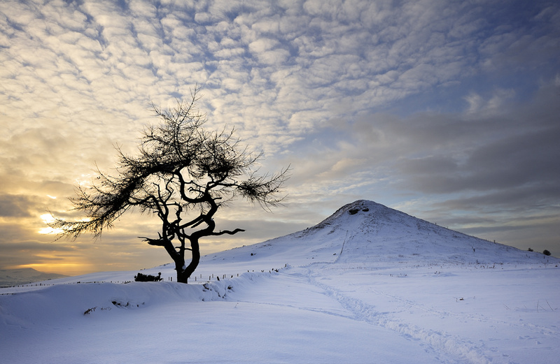 Winter Sun - Roseberry Topping - Roseberry Topping