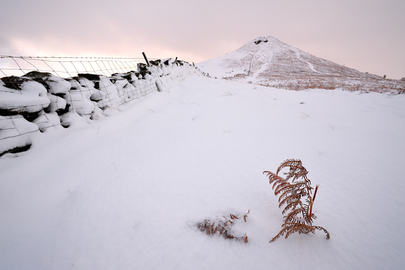 Winter Glow - Roseberry Topping - Roseberry Topping