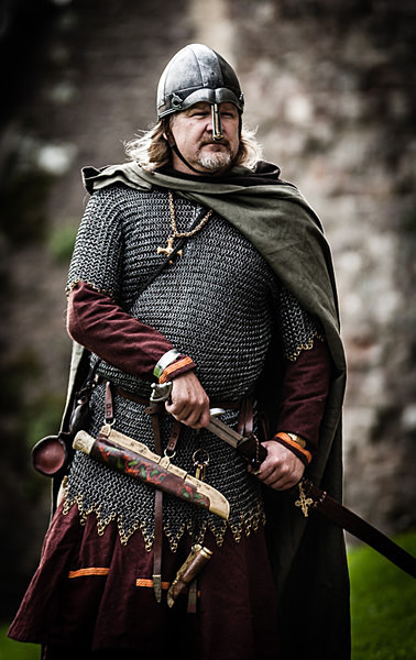 Anglo Saxon Eorl - Historical Re-enactment