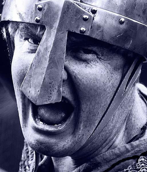 Saxon Huscarl - Historical Re-enactment