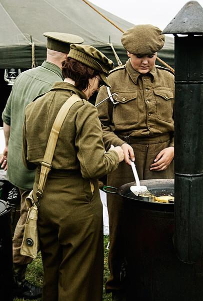 World War II - Historical Re-enactment