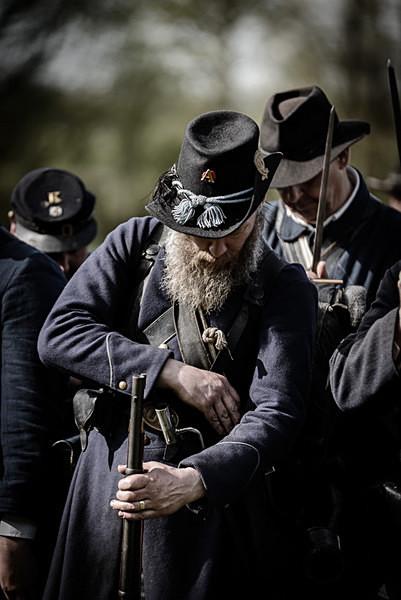 Union Soldier - Historical Re-enactment