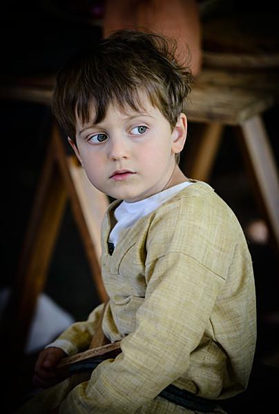 Viking Boy - Historical Re-enactment