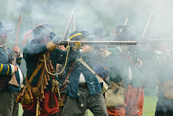 Battle of Stratton - Historical Re-enactment