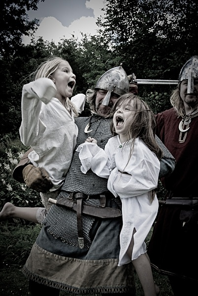 Viking Raid - Historical Re-enactment