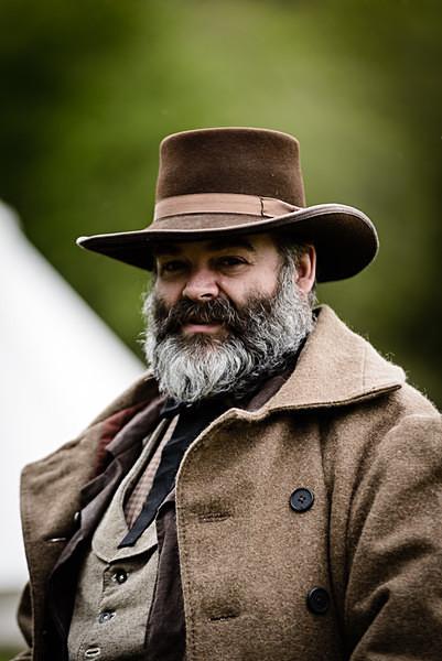American Civil War Civilian - Historical Re-enactment