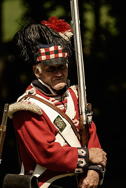 Black Watch 1815 - Historical Re-enactment