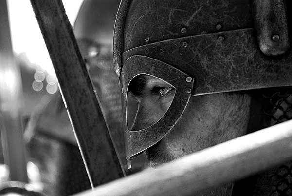 The Shield Wall - Historical Re-enactment