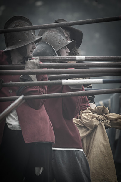 English Civil War Pikemen - Historical Re-enactment