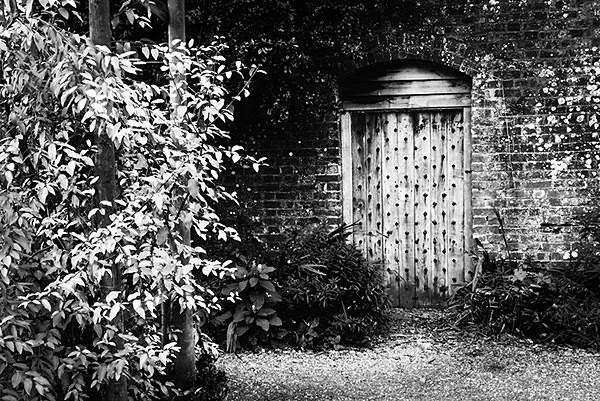 Walled Garden Door - Gardens