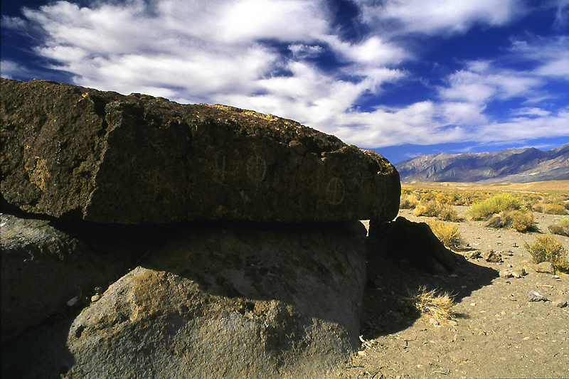 Petroglyphs, Owens Valley - Along the Eastern Side