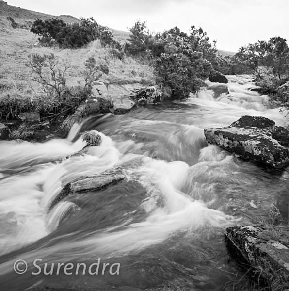 East Okement River Dartmoor UK - Dartmoor